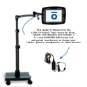 Levo G2 Deluxe Floor Stand - With Power Outlet