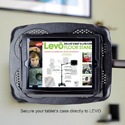 Levo G2 Deluxe Table Clamp Stand - Securely Holds Tablet or Reader With or Without Case