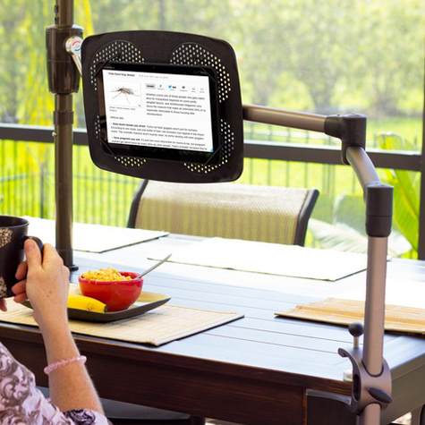 LEVO G2 Deluxe Table Clamp Stand for iPads, Tablets and eReaders by