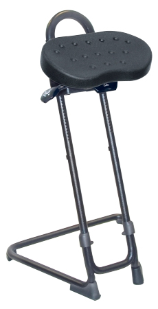 Industrial Sit Stand Stool By Lyon Ergocanada Detailed