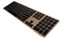 Wireless Aluminum Keyboard - Gold
