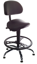 EQUSIT Sit-Stand Saddle Seat - Model 83015