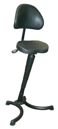 Rison Sit Stand Leaning Stool By Mey Chair Systems
