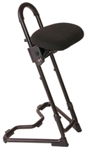 Mey Chair Systems Steybil Sit-Stand Stool - Fabric Over Polyurethane Seat (11148)