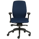 Posturite Positiv Plus Medium Back Task Chair - Front View
