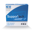 SupporTech Adjustable Memory Foam Seat Cushion - Retail Packaging
