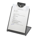 Onyx Mesh Copyholder with paper attached