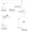 Vamp LED Task Light - Range of Motion
