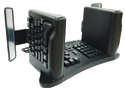 SafeType Vertical Keyboard - black model