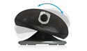 ErgoMotion Laser Mouse - bottom view