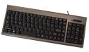 Compact Financial Scissor-Switch Membrane Keyboard