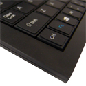 Full Travel Mini Keyboard - Key Close Up