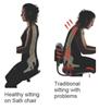 Salli Posture versus Traditional Seating Problem Posture