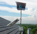 BroadBand PRO Rooftop Installation with Solar Panel