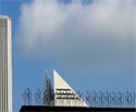 Roof Edge Polycarbonate Bird Spike Installation