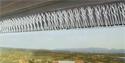 Polycarbonate Bird Spikes as Freeway and Bridge Roosting Inhibitors