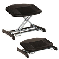 Foot Actuated Height Adjustable Footrest By Bakker