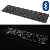 Backlit Wireless Multi-Pairing Keyboard for PC by Matias