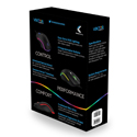 Vektor RGB Gaming Mouse - Package Back