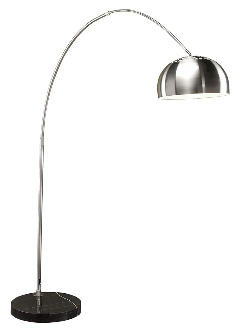 Lumisource Chrome Arch Floor Lamp