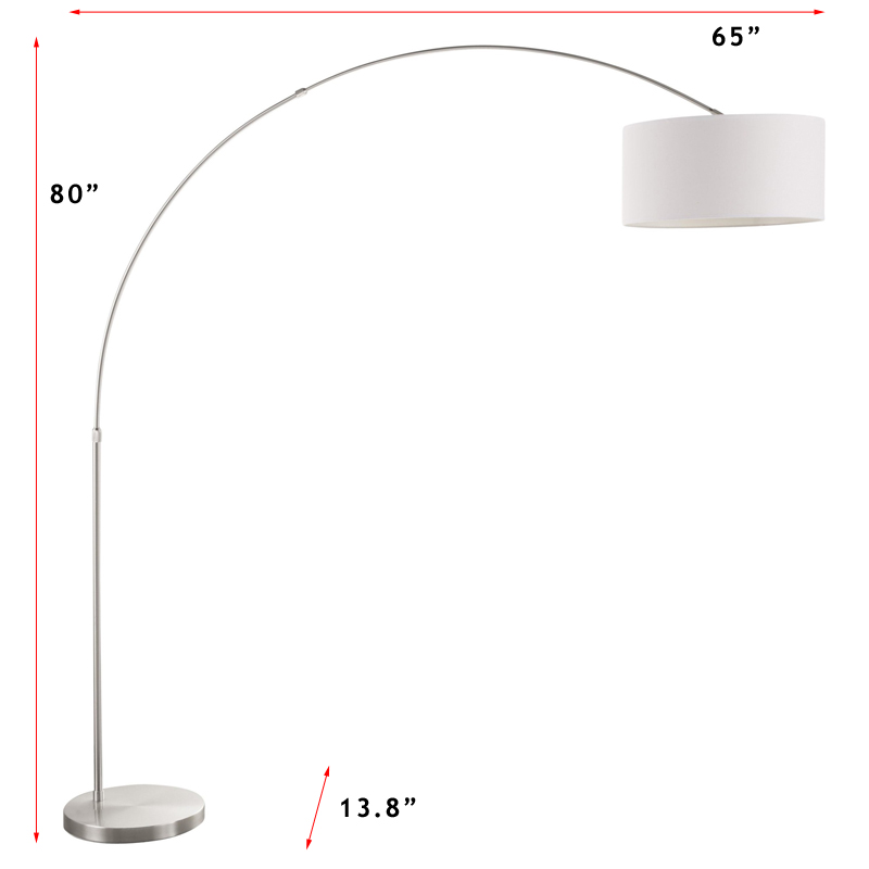 Lumisource Salon Floor Lamp - White