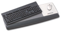 Gel Wrist Rest Platform for Keyboard and Mouse - In Use