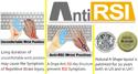 A-Style Slanted Keycap Keyboard - anti-RSI