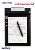 DigiMemo Digital Writing Pad