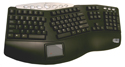 Truform PRO Keyboard with Touchpad - black model