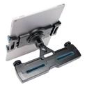 Car Headrest Tablet Mount - Tablet in Portrait Mode