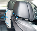 Car Headrest Tablet Mount - Tilt Range