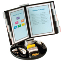 Executive Rotary Base Flip and Find Display Carousel
