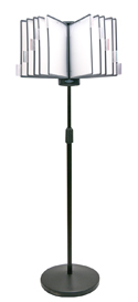 Flip & Find Adjustable Floor Stand Reference Organizer