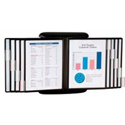 Double Sided Viewing Panels with Index Tabs