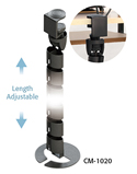 Under Desk Spine Cable Management - Length Adjustable
