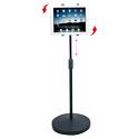 Aidata Universal Tablet Floor Stand - Range of Movement