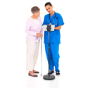 Aidata Universal Tablet Floor Stand - At Work
