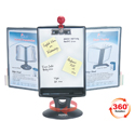 Whiteboard Copy Holder Flip and Find Display Carousel - Showing Whiteboard