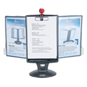 Whiteboard Copy Holder Flip and Find Display Carousel - Showing Copy Holder
