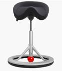 Back App Ergonomic Chair - Grey Nordic Wool Fabric
