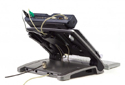 Ergo T-340 with Docking Station Attached to Port Replicator