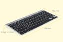 M-board 870 Keyboard - Dimensions