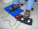 FooTime FootMouse and Programmable Pedal - in use