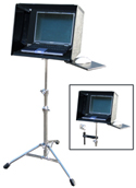 InsTand Heavy-duty Laptop Stand - with supertray and hood