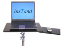 InsTand Heavy-duty Laptop Stand - supertray with sliding mouse platform