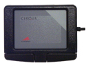 Easy Cat USB Touchpad - top view, black model