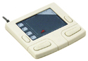 Smart Cat Pro AG Touchpad - angled view, white model