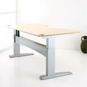 Conset 501-11 Series Electric Desk Base Shown With Top