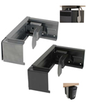Conset CPU Holder Available in Black and Silver