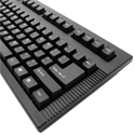 Left-Handed Mechanical Keyswitch Keyboard, right side detail